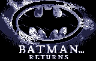 Screen ze hry Batman Returns