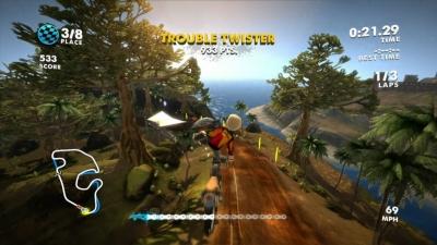 Screen ze hry Motocross Madness