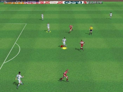 Screen ze hry FIFA 2000