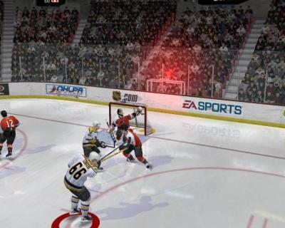 Screen ze hry NHL 2005
