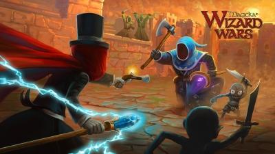 Artwork ke hře Magicka: Wizard Wars