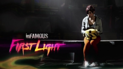 Artwork ke hře Infamous: First Light