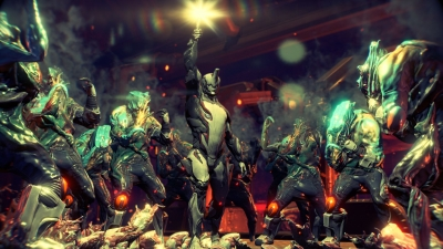 Screen ze hry Warframe