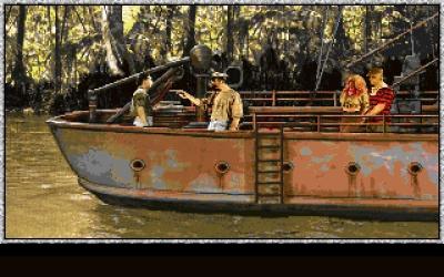 Screen ze hry Amazon: Guardians of Eden