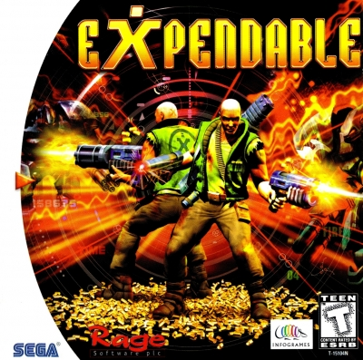 Obal hry Expendable