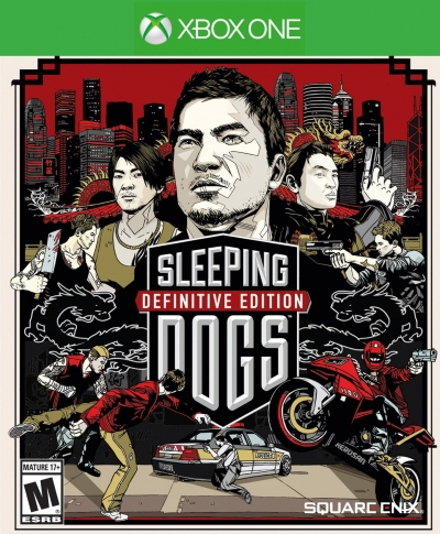 Obal hry Sleeping Dogs: Definitive Edition