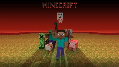 Artwork ke hře Minecraft