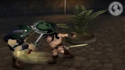 Screen ze hry Kaan: Barbarian´s Blade
