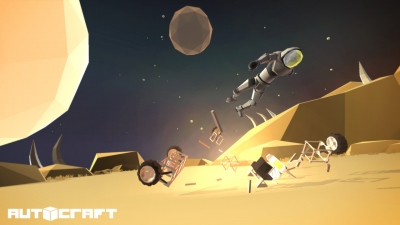 Screen ze hry Autocraft