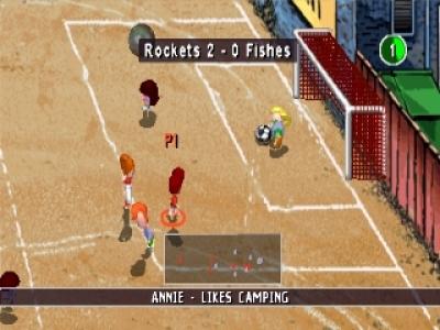 Screen ze hry Junior Sports Football