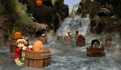 Screen ze hry LEGO The Hobbit