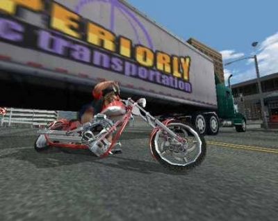 Screen ze hry American Chopper 2: Full Throttle