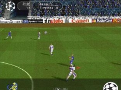 Screen ze hry UEFA Champions League 1999-2000