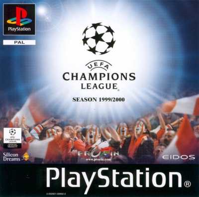 Obal hry UEFA Champions League 1999-2000