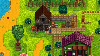 Screen ze hry Stardew Valley