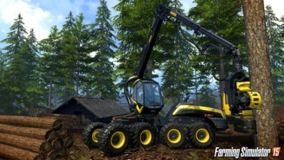 Screen ze hry Farming Simulator 2015