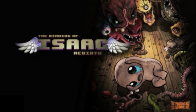 Artwork ke hře The Binding of Isaac: Rebirth