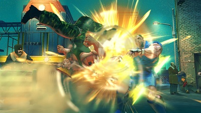 Screen Street Fighter IV