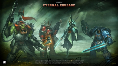 Artwork ke hře Warhammer 40,000: Eternal Crusade