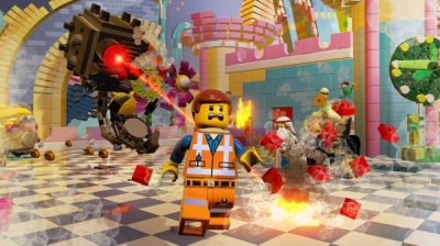 Screen ze hry LEGO Movie Videogame