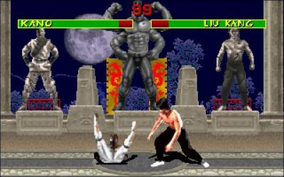 Screen ze hry Mortal Kombat