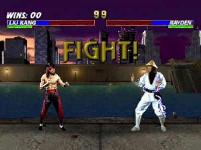 Screen ze hry Mortal Kombat Trilogy