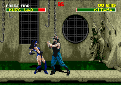 Screen ze hry Mortal Kombat II