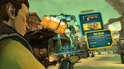 Screen ze hry Tales from the Borderlands