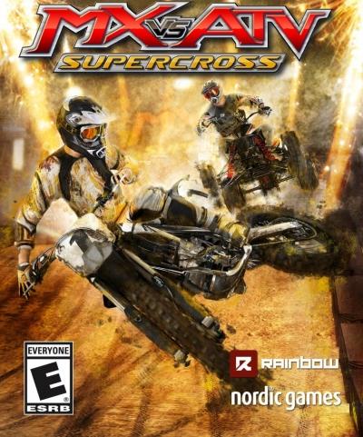Artwork ke hře MX vs. ATV Supercross