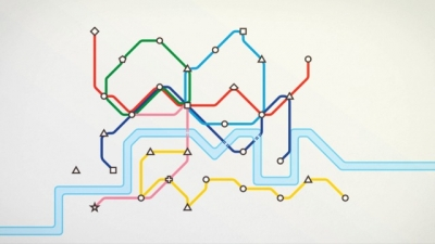 Artwork ke hře Mini Metro