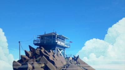 Screen ze hry Firewatch