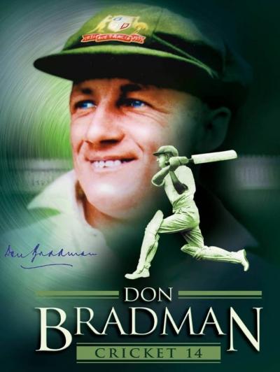 Artwork ke hře Don Bradman Cricket 14