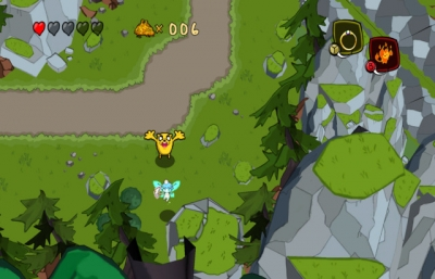 Screen ze hry Adventure Time: The Secret of the Nameless Kingdom