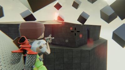 Screen ze hry CubeZ