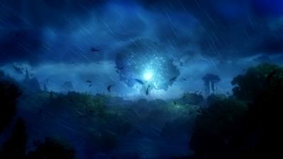 Artwork ke hře Ori and the Blind Forest