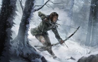 Artwork ke hře Rise of the Tomb Raider