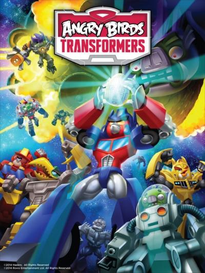 Artwork ke hře Angry Birds: Transformers