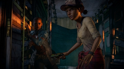 Screen ze hry The Walking Dead: A New Frontier