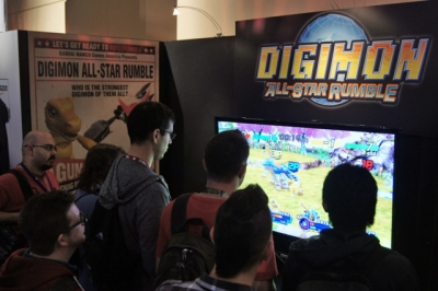 Artwork ke hře Digimon All-Star Rumble
