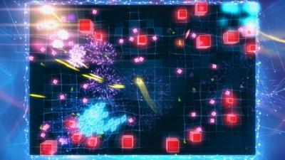 Artwork ke hře Geometry Wars 3: Dimensions