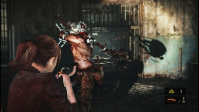 Screen ze hry Resident Evil: Revelations 2