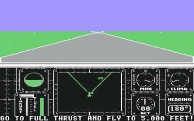 Screen ze hry F-14 Tomcat