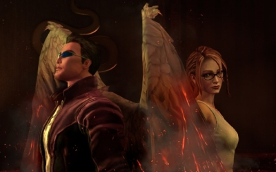 Screen ze hry Saints Row: Gat Out of Hell
