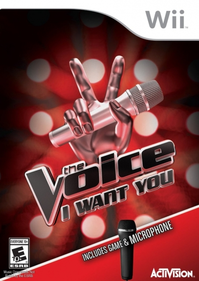Artwork ke hře The Voice: I Want You