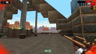 Screen ze hry Gunscape