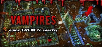 Artwork ke hře Vampires: Guide Them to Safety!