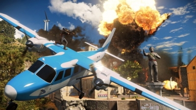 Artwork ke hře Just Cause 3