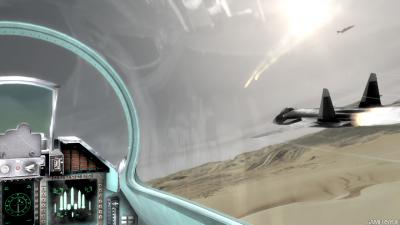 Screen ze hry Tom Clancy´s HAWX