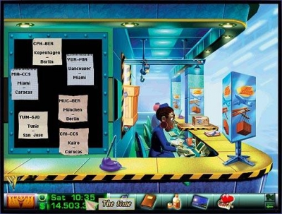 Screen ze hry Airline Tycoon Deluxe