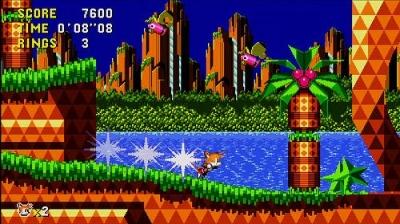 Screen ze hry Sonic CD